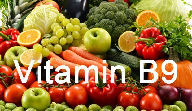 Tìm hiểu Vitamin B9 (axit folic)